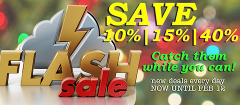 SAVE 10% in our CATCH THEM WHILE YOU CAN SALE!