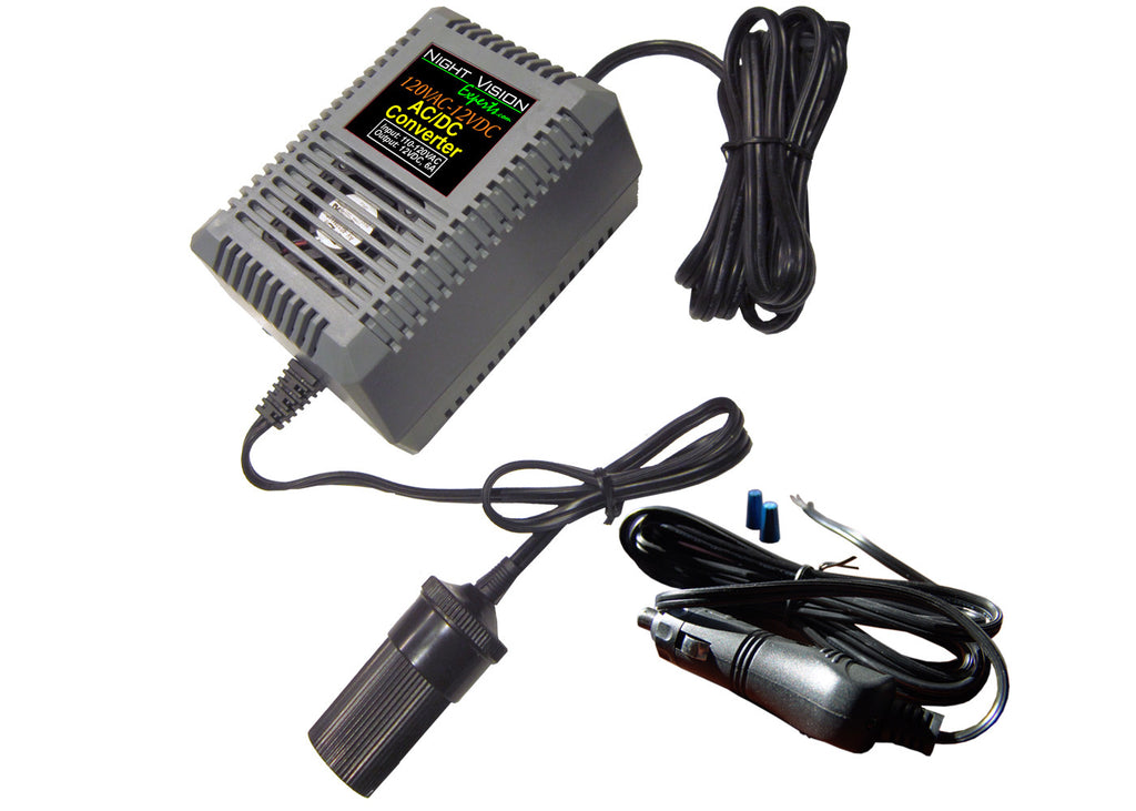 120VAC-12VDC Converter with 12VDC Power Link