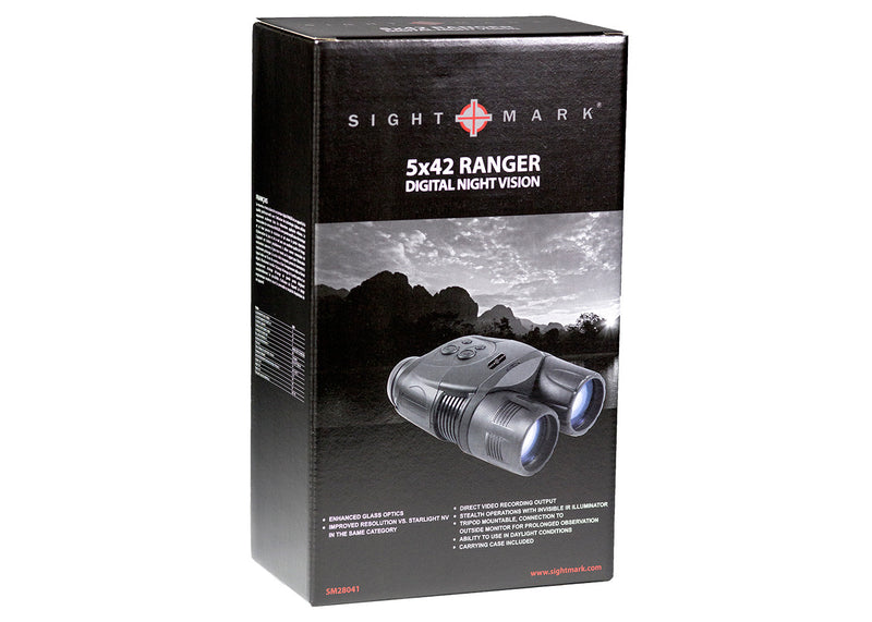 Sightmark Ranger XR 6.5x42 Digital Night Vision Scope, carton