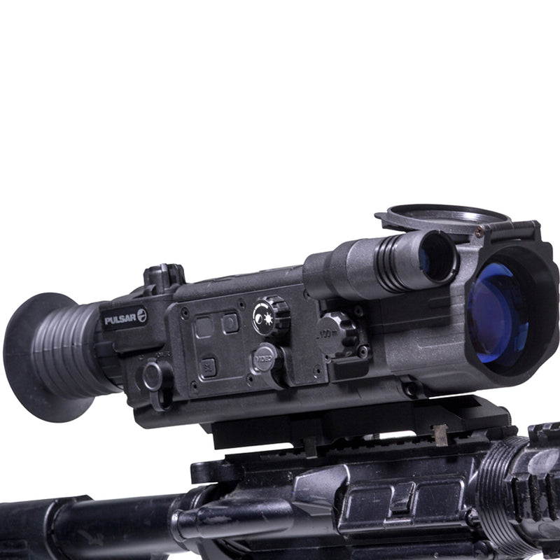 Pulsar Digisight N750 Digital Night Vision Hunting Scope, mounted