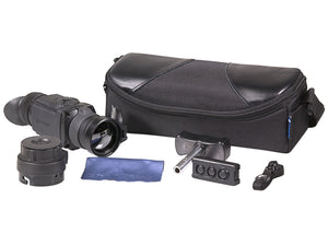 Pulsar Core FXQ38 and FXQ50 Thermal Imaging Clip-On Attachments, full kit