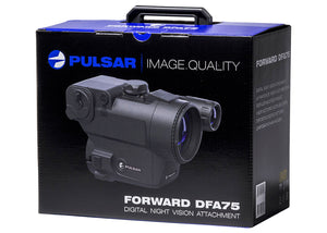 Pulsar Forward DFA75 Digital Clip-On Night Vision Scope, carton