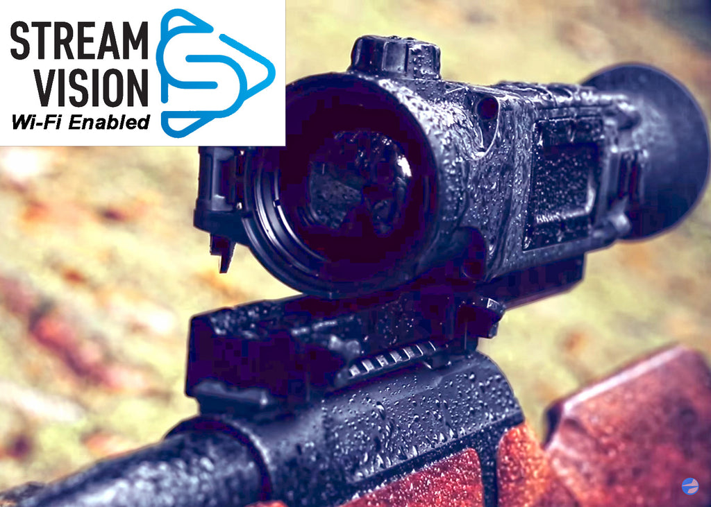 Pulsar Trail Wi-Fi Enabled Thermal Imaging Hunting Scopes