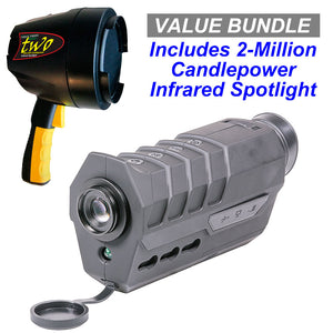 Firefield Vigilance 1-8x16 Digital Night Vision Scope / 2-Million Candlepower Infrared Spotlight Value Bundle