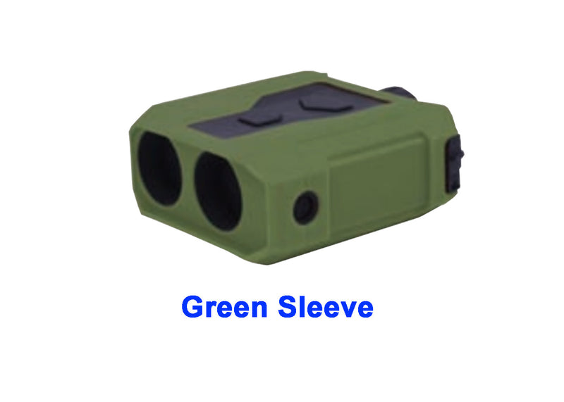 Newcon LRM-3500M Laser Range Finder Monocular, Green Sleeve shown
