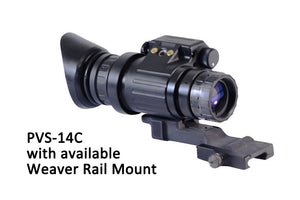 GSCI PVS-14C Multi-Function Gen3 Night Vision Scope, with available Weaver Rail Mount