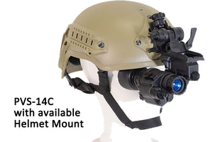 GSCI PVS-14C Multi-Function Gen3 Night Vision Scope, with available Helmet Mount