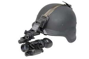 PVS-14 Pinnacle Gen3 Auto-Gated Night Vision Mono-Goggles, shown with available helmet mount