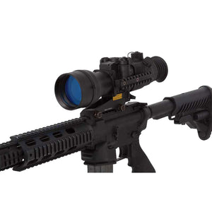 Sightmark Night Raider 2.5x50 Gen1+ Night Vision Hunting Scope, shown mounted