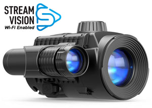 Pulsar Forward F135, Wi-Fi Enabled Digital Clip-On Night Vision Attachment