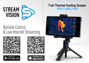 Pulsar Trail Wi-Fi Enabled Thermal Imaging Hunting Scope Stream Vision iOS and Android apps