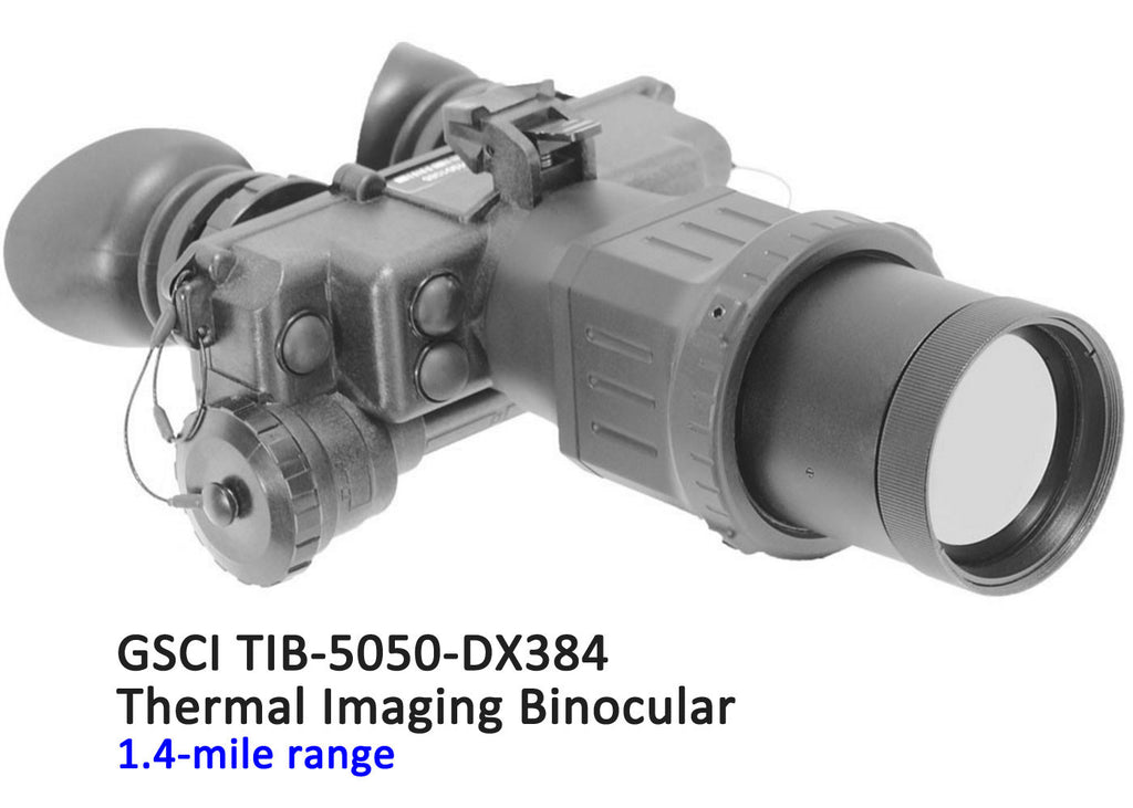 GSCI TIB-5050-DX384 Thermal Imaging Binocular, 1.4-mile range
