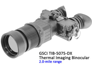 GSCI TIB-5075-DX Thermal Imaging Binocular, 2.0-mile range