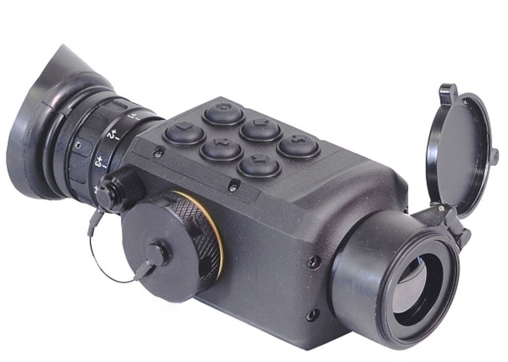GSCI TIM-14DX-384 Multi-Purpose Thermal Imaging Scope, 50Hz.  Exportable and ITAR-free.