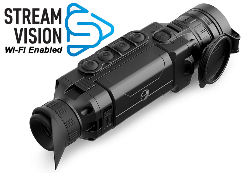 Pulsar Helion XP Professional Series High Resolution Wi-Fi Enabled Thermal Scope