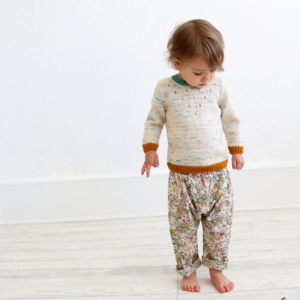 Baby Toddler Harem Pants Sewing Pattern Wiksten