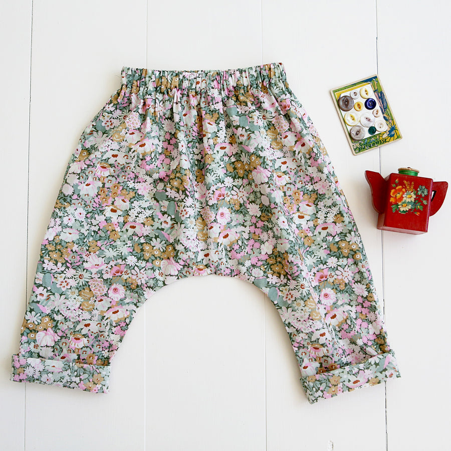 Baby Harem Pants Sewing Pattern