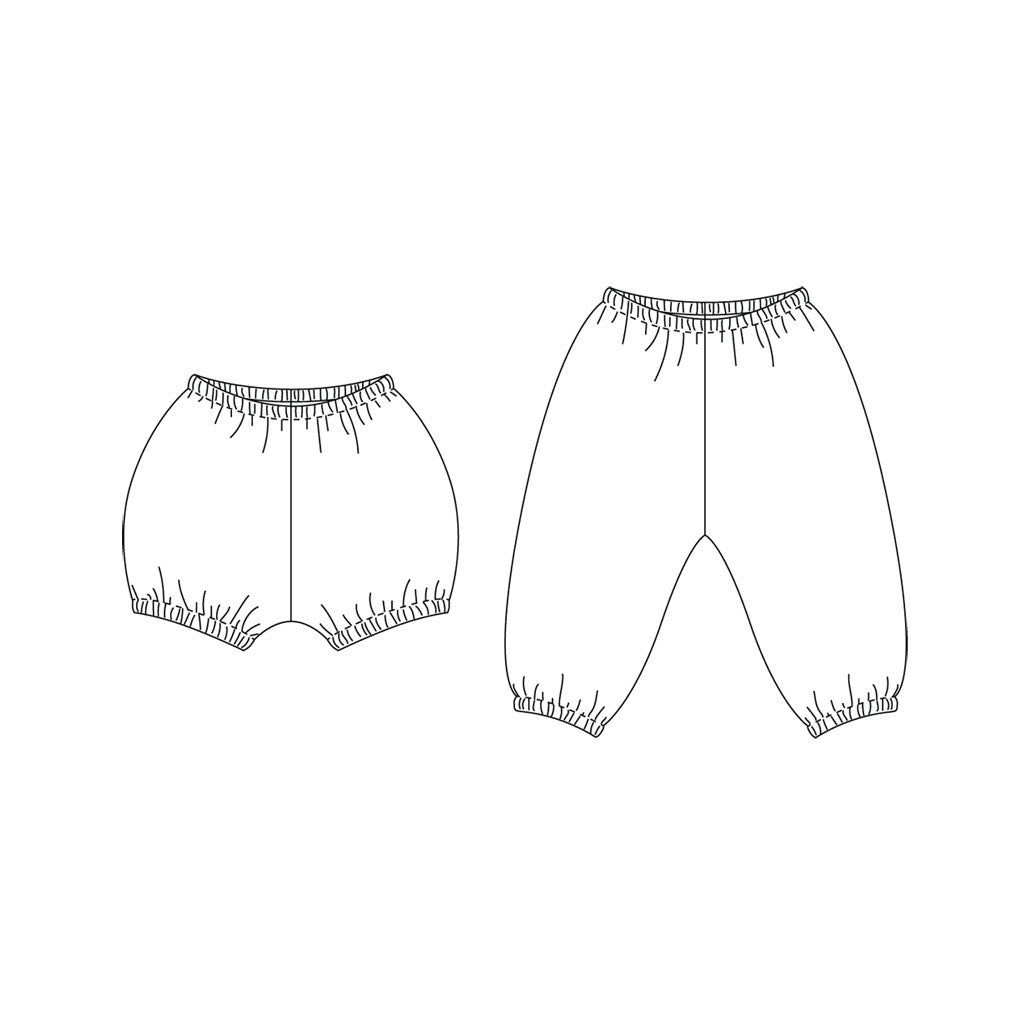 Baby + Toddler Bloomers + Pants Sewing Pattern – Wiksten