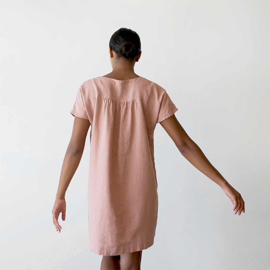 Boxy Shift Dress