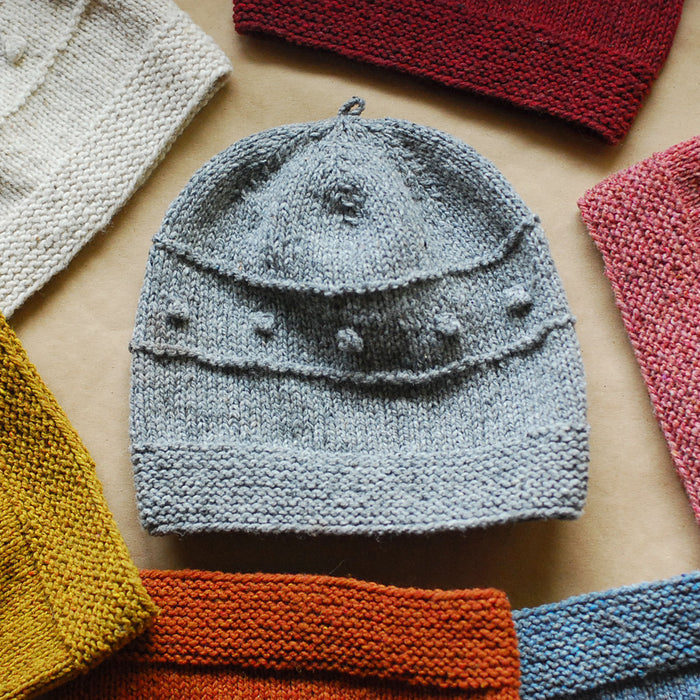Snoflinga Bobble Hat Knitting Pattern