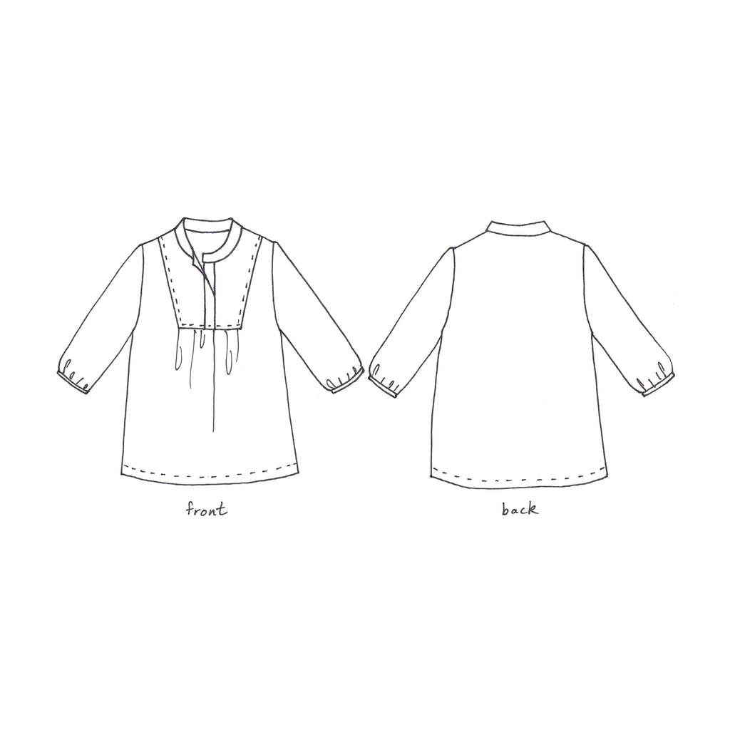 Women's Tova Tunic and Dress Sewing Pattern