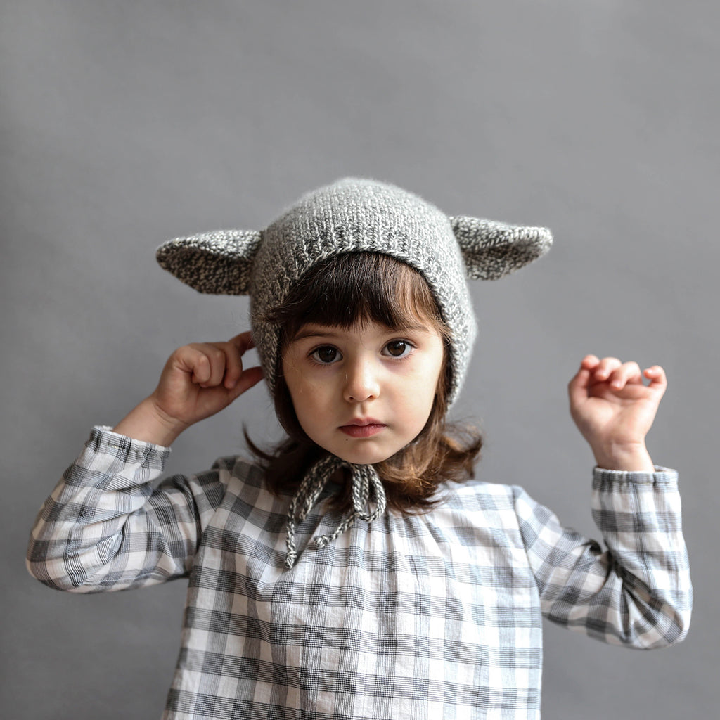 Baby Animal Bonnet Knitting Pattern