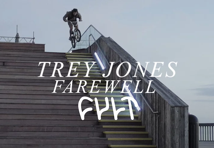 TREY JONES FAREWELL