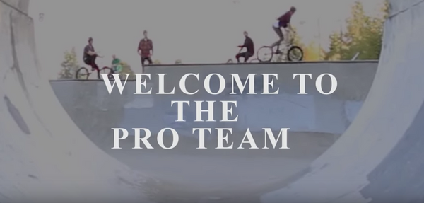 COREY WALSH / Welcome to the Pro Team