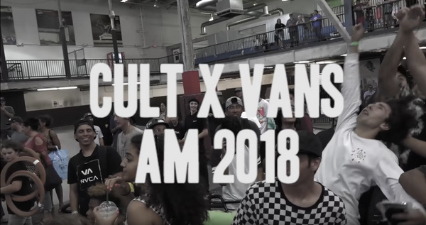 CULT VANS AM 2018 / video