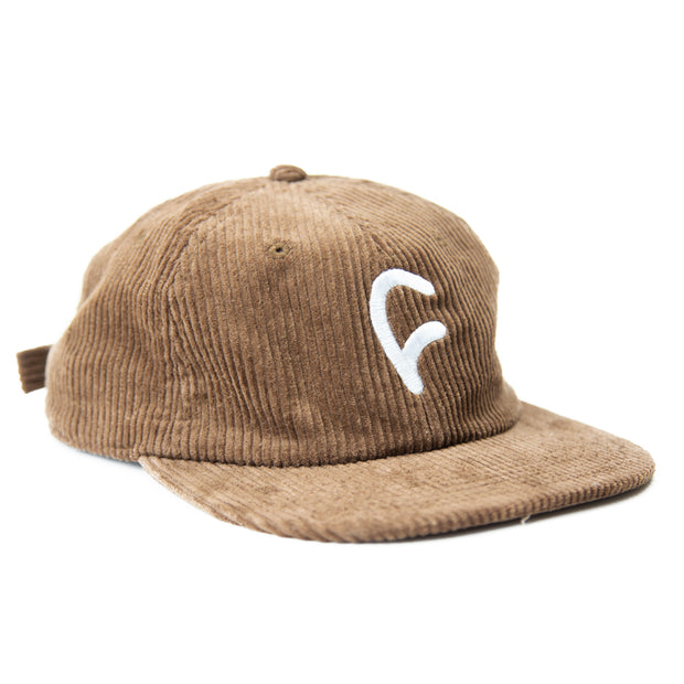 Corduroy C Cap / brown