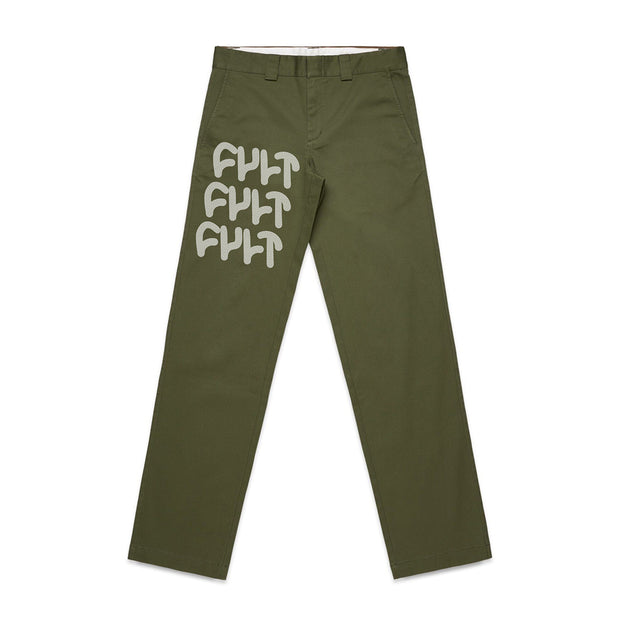 Militant Relaxed Chino Pants