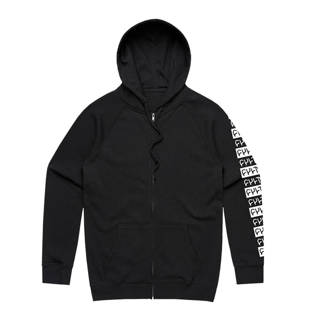 Pattern Zip Up