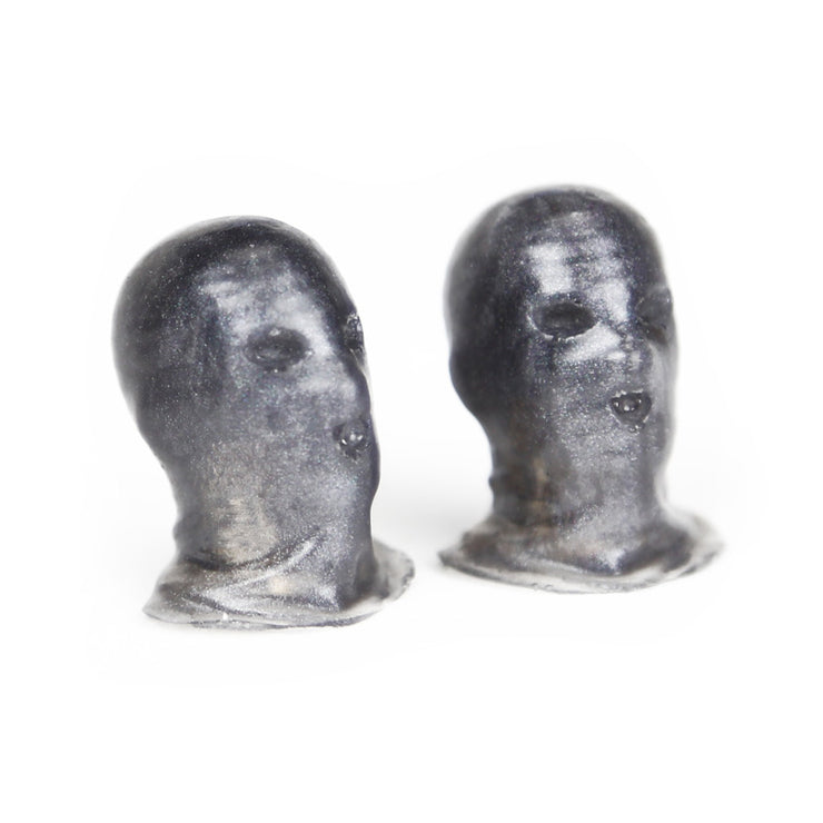 Ski Mask valve caps - grey