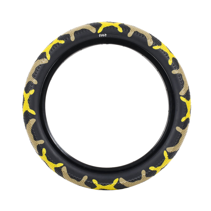 "Vans x Cult Tire 20"" / yellow camo (single)"