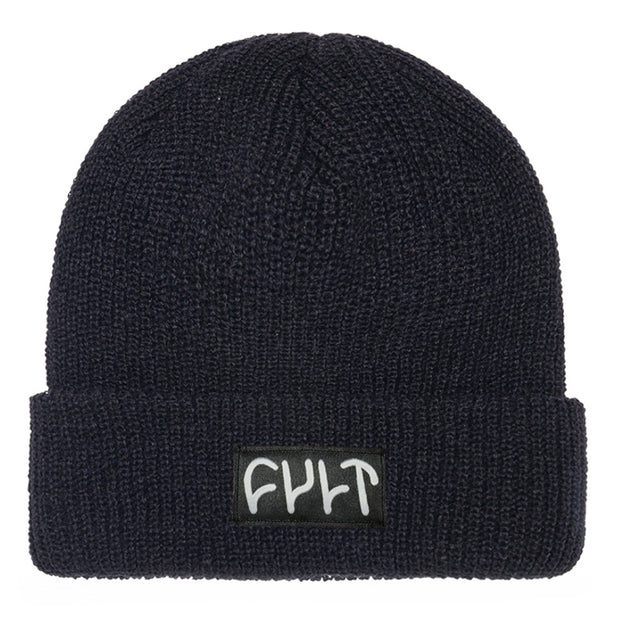 Witness Beanie / ribbed black