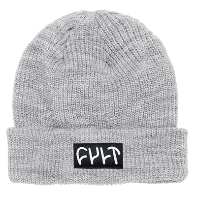 Witness Beanie / ribbed light grey