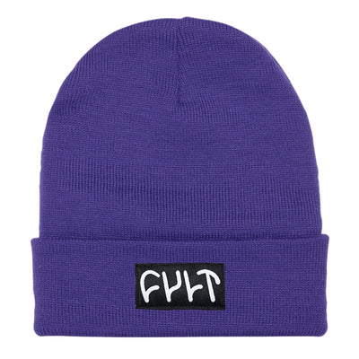 Witness Beanie / tight knit purps
