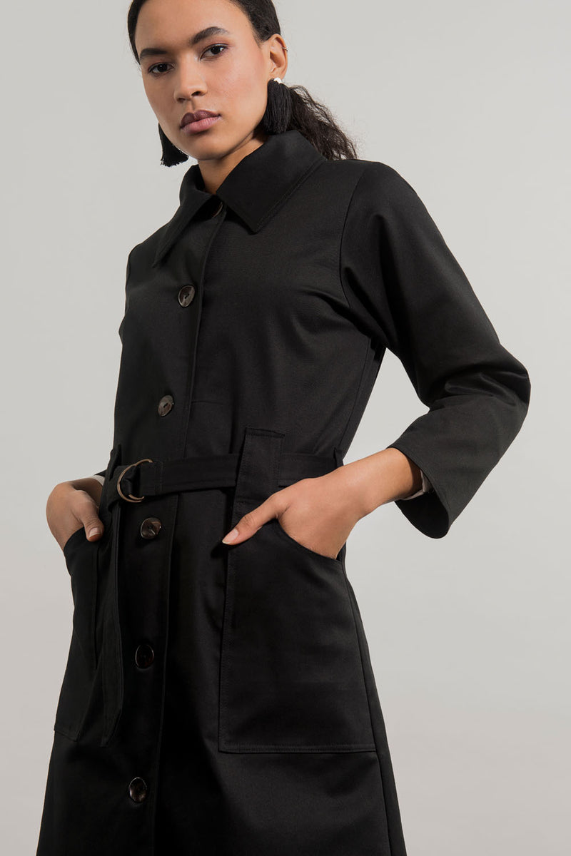 Oya Trench Coat