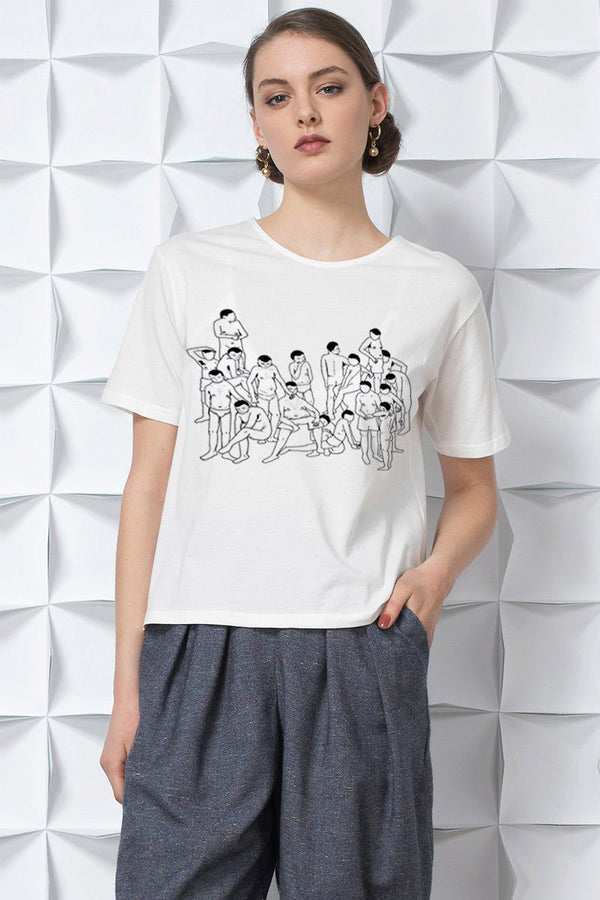 Essential Sumwut Collab Crowd T-shirt