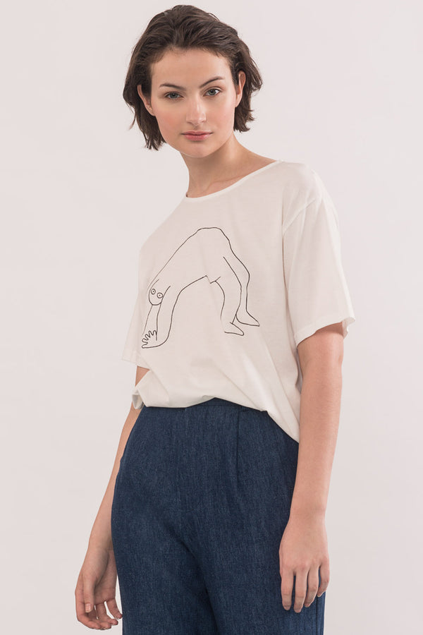 Bend T-shirt Essentiel Collaboration Sumwut