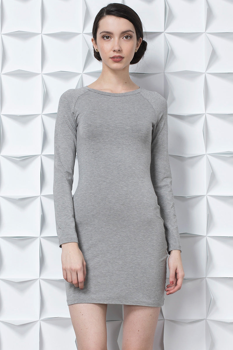 Raglan Long Sleeve Dress