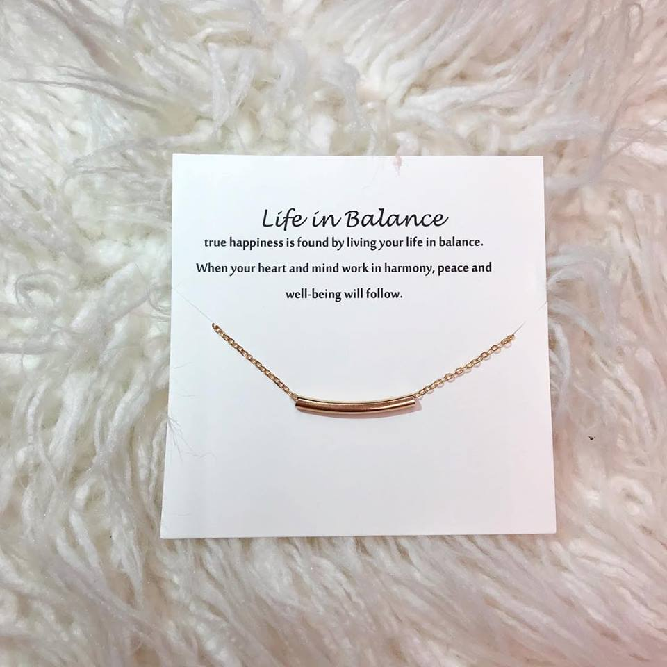 Balance Bar Necklace