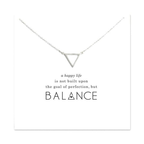 Triangle Balance Necklace