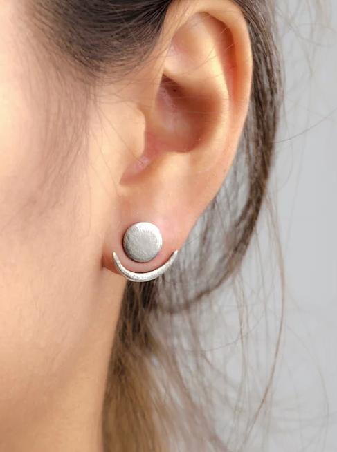 Moon Phase Ear Jacket