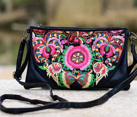 Bohemian Embroidered Bag