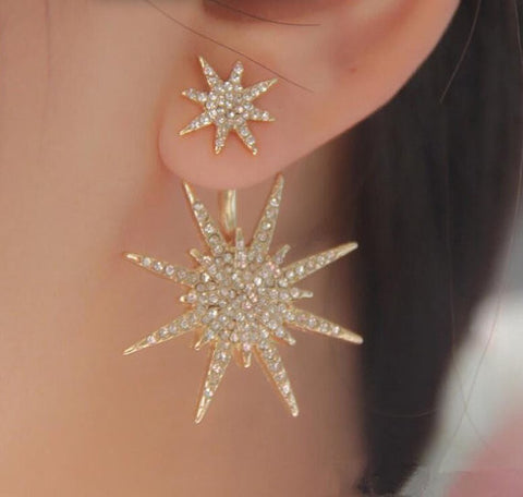 Snowflake Star Ear Jacket