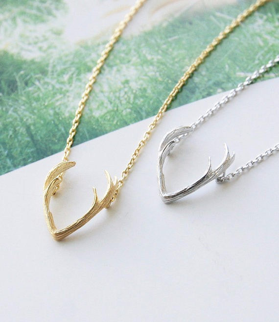Buck Antler Necklace