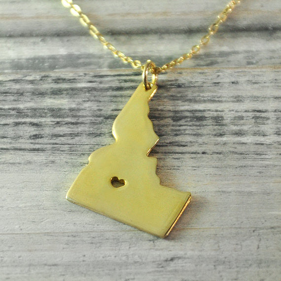 Idaho State Necklace
