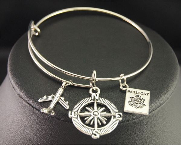 Silver Travel Bangle