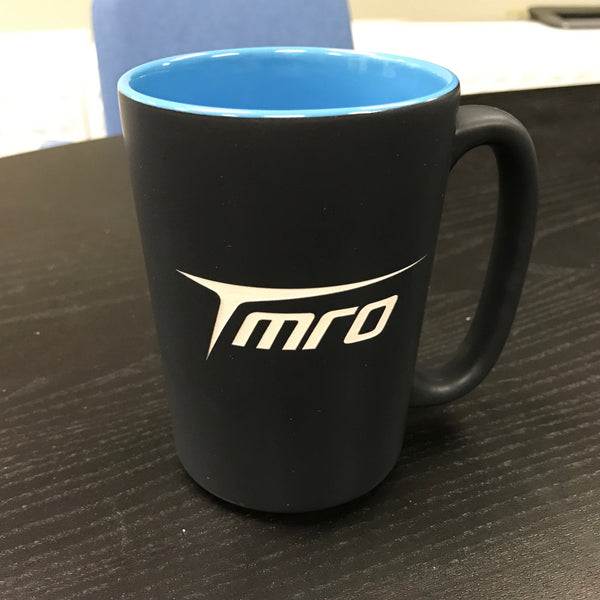 TMRO:Space Blue and Black Mug